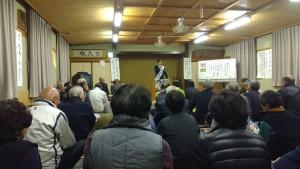 上石川個人演説会