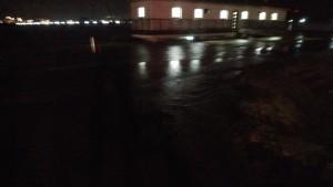 岡田川樋門越水